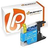 Bubprint Druckerpatrone kompatibel für Brother LC-1220 LC-1240 LC1220 LC1240C für MFC-J430W MFC-J5910DW MFC-J6510DW MFC-J6710DW MFC-J825DW Cyan
