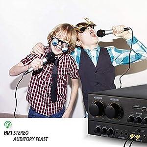 Amait 3er Pack 3 5 mm bis 6 5 mm Stereo-Audio-Adapter Stereo-Audio-Kopfhöreranschluss-Adapter golden