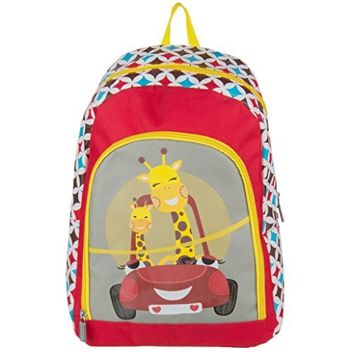 Premium Kid's Travel Play Backpack Book Bag Fits Sylvania Portable DVD Players (Car)