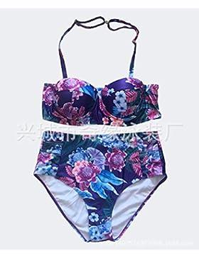 El código Bañadores Bañador __18 grandes astilleros sello bañador bañador de cintura alta, como se muestra en...