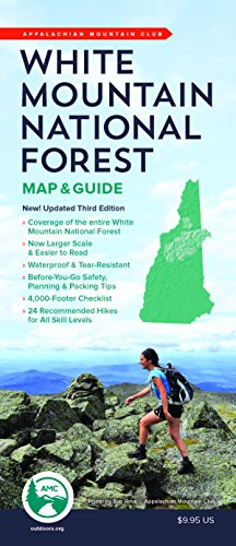 MAP-AMC WHITE MOUNTAIN NATL FO (Appalachian Mountain Club White Mountain National Forest)