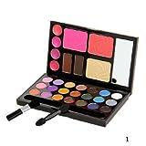 Bluelover Makeup 21 Farbe Lidschatten Blush Lip Gloss Palette Set