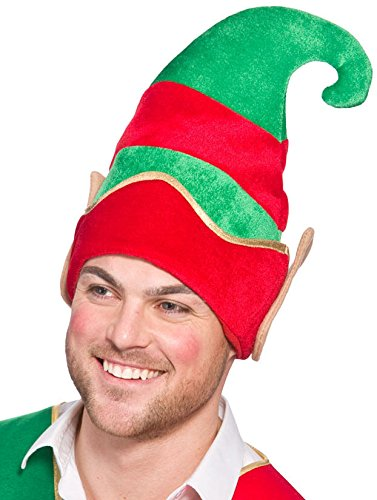 Deluxe Elf Hat with Ears (min 12) **NEW**