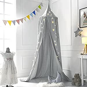 moustiquaire ciels de lit lit baldaquin ciels de lit coton moustiquaire de b b et les adulte. Black Bedroom Furniture Sets. Home Design Ideas