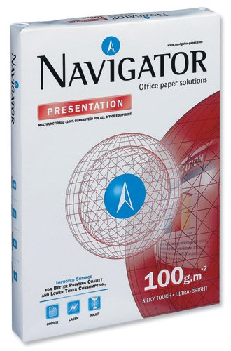 Navigator Presentation Paper High Quality 100gsm 500, used for sale  Delivered anywhere in UK