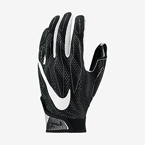 Nike Superbad 4.0 American Football Handschuhe - schwarz Gr. M (Handschuhe Gepolsterte Football)