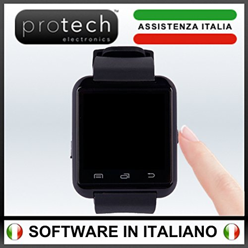 PROWATCH - Unici con Istruzioni in Italiano - Assistenza e Gararanzia ITALIANA 24 MESI - Smartwatch compatibile con Android Ios Samsung Iphone Huawei