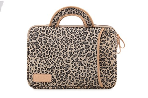 【 Amazon Black Friday Deals Cyber Monday and Christm-13.3 Inch Laptop Sleeve Case-Stylish Leopard Ultrabook Sleeve MacBook Bag for Acer/Asus/Dell/iPad Pro/Lenovo/MacBook Pro/MacBook Air/Surface Pro 4