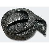 50mm Ruban isolant thermique tissu graphite 30m