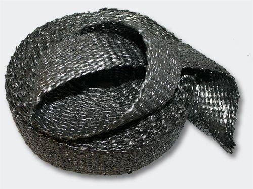 50mm Graphit Hitzeschutzband 10m für Fächerkrümmer& Auspuffanlagen Abgasanlage