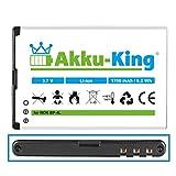 Akku-King Li-Ion Batteria per Nokia E61i E52 E71 E90 N97 N810 - sostituita BP-4L, BP-4C - 1700mAh