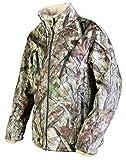 Thermo Jacket - Beheizbare Softshell-Jacke mit 3-stufiger Temperaturregelung Camo - Gr. XXL