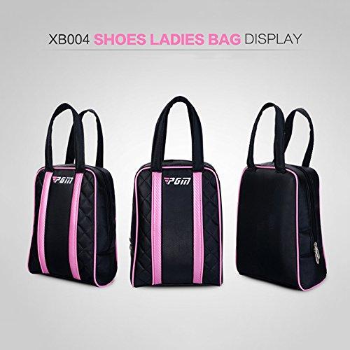 PGM Lady Chaussures de golf sac fabriqué en cuir PU,...