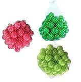 150 Bälle für Bällebad gemischt mix mit hellgrün, pink und grün