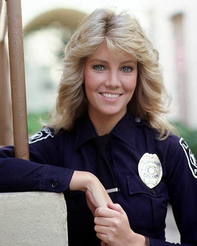 moviestore-heather-locklear-als-officier-stacy-sheridan-in-tj-hooker-25x20cm-farbfoto