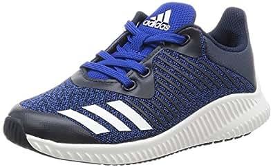 adidas Unisex's Fortarun K Croyal, Ftwwht and Conavy Sneakers - 12 kids UK/India (30.5 EU) (BA9489)
