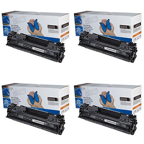 4x Toner kompatibel CB436A HP Laserjet P1505 P1505n M1120 M1120n M1120mfp M1522 M1522n M1522nf M1522mfp