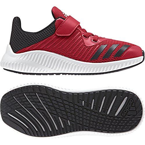 Adidas, Unisex - Kinder, FortaRun EL, Laufschuhe BY2699 Rot