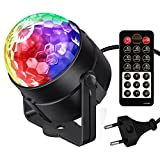 Discokugel iTONCS Discolicht Discolampe Partylampe Partylichter 5W-LED-disco...