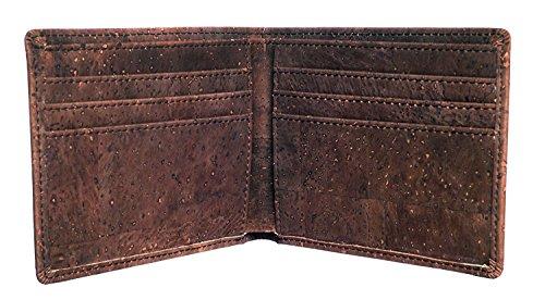 Honest Wallet – Portmonnaie aus 100% natürliches Korkleder und Baumwolle – vegan - 3