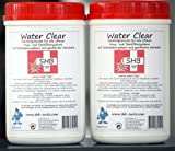 2 X 1 Liter SHB Swiss Water Clear Filtergranulat 1000 ml Nachfüllgranulat für Wasserfilter, Luftbefeuchter, Ultraschallvernebler, alle wiederbefüllbaren Classic-Patronen (In-Ta-Fil, Laurastar)