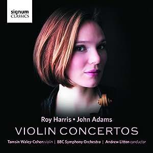 Roy Harris, John Adams: Violin Concertos