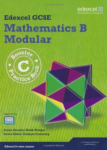 GCSE Mathematics Edexcel 2010: B Booster C Practice Book (GCSE Maths Edexcel 2010) by Kevin Tanner...