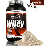 Best Whey Protein Supplements - 100% Triple Whey Protein Powder Premium Complete Supplements Review