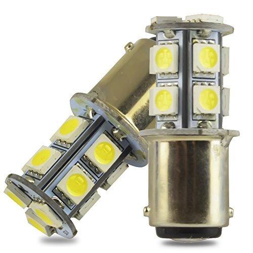Safego 4x Bombillas LED 1157 P21/5W BAY15D 13 SMD 5050 Luz de...