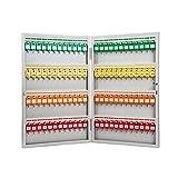 QSJY File Cabinets Armadi archivio Armadio Portachiavi, 96 cifre a Muro Combinazione Chiave Serratura organizzatore di Sicurezza (Acciaio Inossidabile) 59 * 37,7 * 5,2 cm