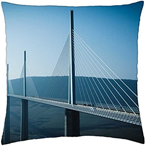 Crossing the Gap - Throw Pillow Cover Case (18