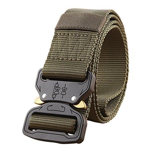 Taktische Gürtel Military Style Riggers Web Gürtel mit Cobra Gürtelschnalle Test