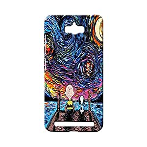BLUEDIO Designer 3D Printed Back case cover for Asus Zenfone Max - G2903