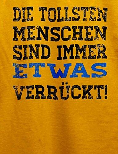 Die Tollsten Menschen Sind Immer 2 Herren T-Shirt Gelb