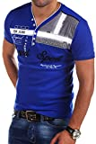 MT Styles 2in1 T-Shirt ROYAL R-2206 [Blau, 3XL]