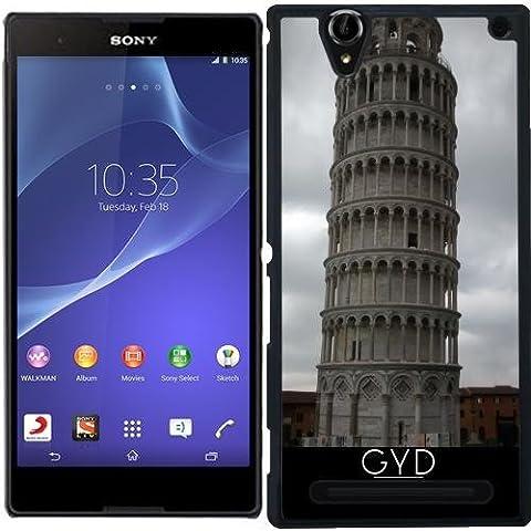 Hülle für Sony Xperia T2 Ultra - Der Schiefe Turm
