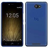 TBOC Funda de Gel TPU Azul para bq Aquaris U - bq Aquaris U Lite (5.0...