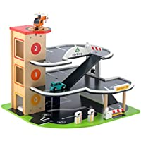 Early Learning Centre Figurines (Big city Wooden Garage)