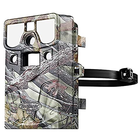 Trail camera [2017 July New]Ancheer 12 Megapixal 1080P Wildlife Hunting Game Camera Time Lapse with No glow Infrared Night Vision,IP66