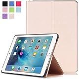 Protección Caja para Apple iPad Pro 2016 9.7 Pulgadas Smart Slim Case Book Cover Stand Flip (Colore: Oro)