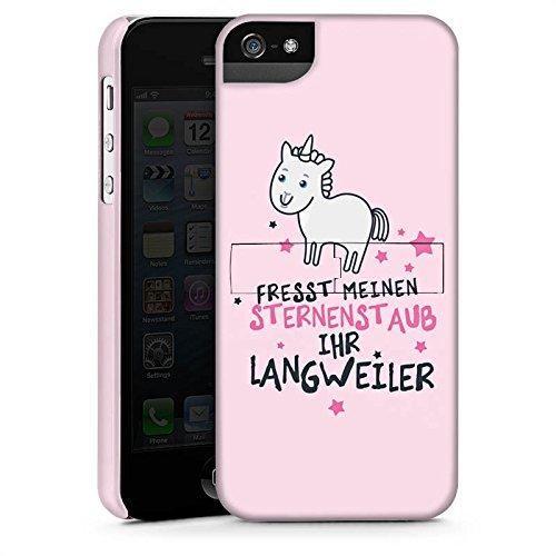 Apple iPhone 6 Hülle Case Handyhülle Einhorn Unicorn Sprüche Premium Case StandUp