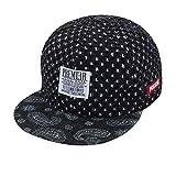 Berretto Da Baseball Flat Peak Snapback Hat Rapper Modello Hip Hop Floreale  Da Uomo 24423768d0a3