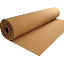 Rollo de corcho, Ancho 45cm x Longitud 5m, Grosor 1mm