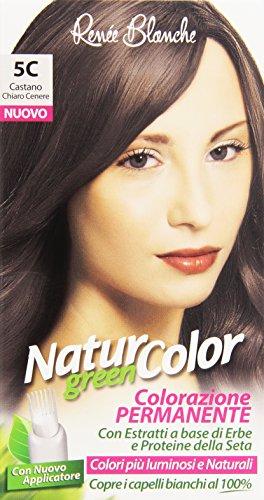 Renee Blanche - Colorazione Permanente, Castano Chiaro Cenere 5C - 120 Ml