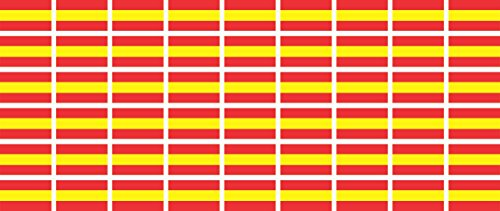 mini-aufkleber-set-pack-glatt-20x12mm-selbstklebender-sticker-spanien-flagge-banner-standarte-furs-a