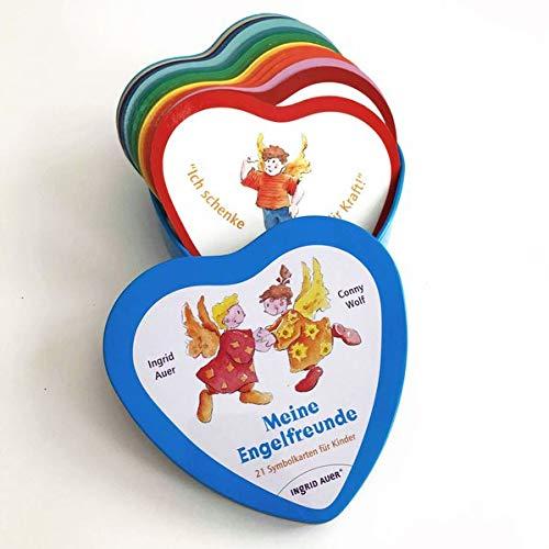 Meine Engel-Freunde: 21 Herzkarten für Kinder