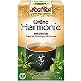 Yogi Tea - Bio Grüne Harmonie Tee, 1er Pack (17 x 1,8 g Teebeutel) - BIO