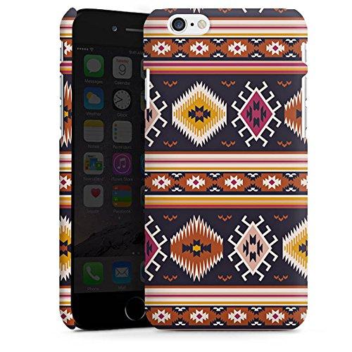 Apple iPhone X Silikon Hülle Case Schutzhülle Muster Ethno Bunt Premium Case matt