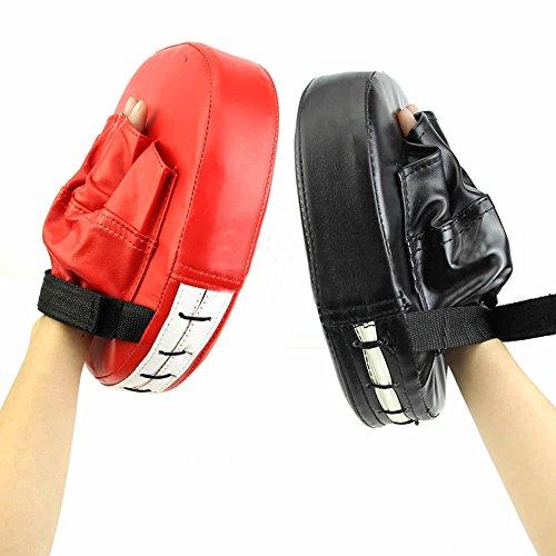 YGQersh Boxe Mitt Entraînement Cible Karaté Combat Thai Kick Punch Pad Gant - Noir
