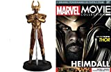 COLLEZIONI Marvel Movie Collection 3D Heimdall Avengers Thor Resin Figure Eaglemoss +fas